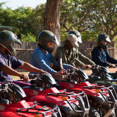 Quad bike safaris, for the more adventurous