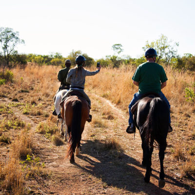 Create memories on your horseback safari