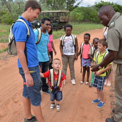Learning about the wilderness with Mabula Game Lodge Cubz Club