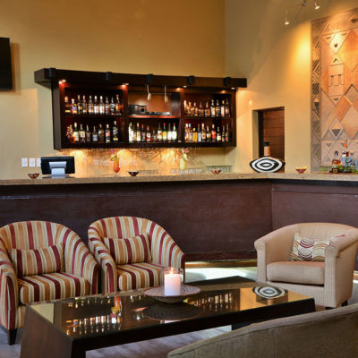 Mabula Game Lodge whiskey bar
