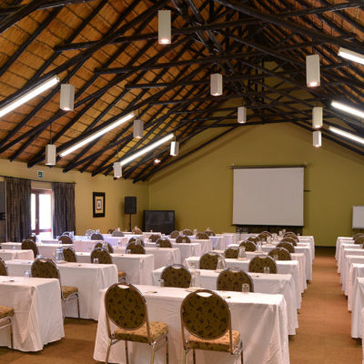 Mabula Game Lodge Baobab conferencing room